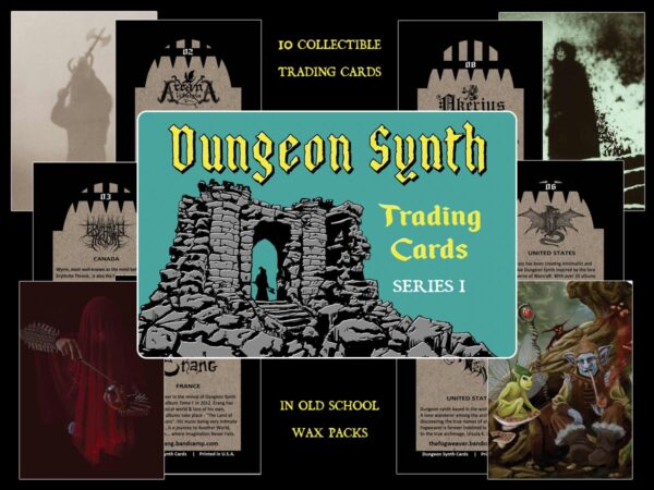 Dungeon Synth Cards Series 1